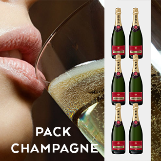 Pack Champagne - Caixa Champagne Piper - Heidsieck Brut