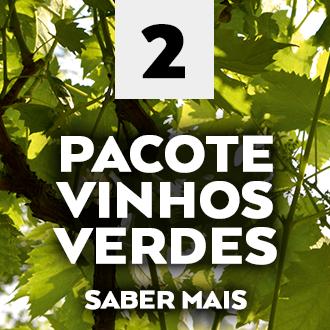 PACOTE VINHOS VERDES VERÃO 2017